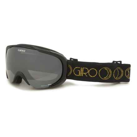Giro Field Ski Goggles - Limo Lens (For Women) in Black/Gold Moon Phase/Black - Closeouts