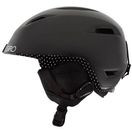 Giro Flare Ski Helmet (For Women) in Black Mini Dots