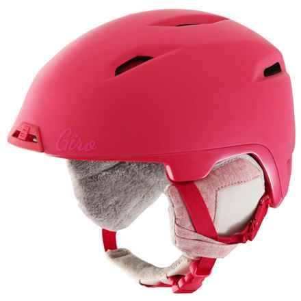 Giro Flare Ski Helmet (For Women) in Matte Bright Coral - Closeouts