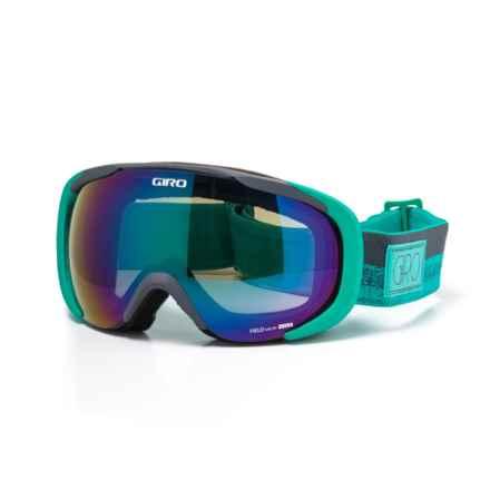 Giro Flash Ski Goggles (For Women) in Turquoise/Turbulence - Closeouts