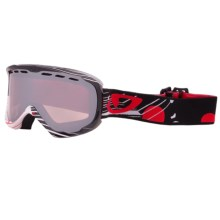 Giro Focus Snowsport Goggle in Black Boneyard/Rose Silver - Closeouts