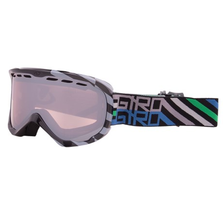 Giro Focus Snowsport Goggle in Black Offset/Rose Silver