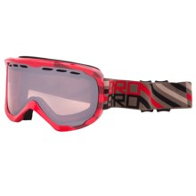 Giro Focus Snowsport Goggle in Red Offset/Rose Silver - Closeouts