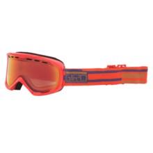 Giro Focus Snowsport Goggle in Red Scrall/Persimmon Blaze - Closeouts