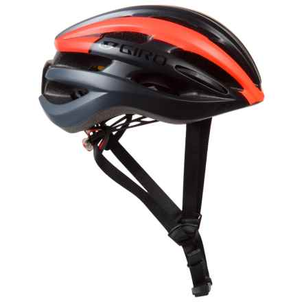 Giro Foray Bike Helmet - MIPS (For Men and Women) in Matte Black/Vermillion Fade - Closeouts