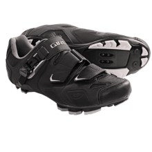 Giro Gauge Mountain Bike Shoes - SPD (For Men) in Black - Closeouts