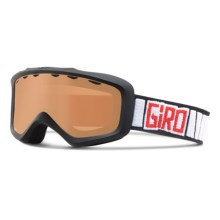 Giro Grade Ski Goggles (For Little and Big Kids) in Black Rocker/Ar40 - Closeouts