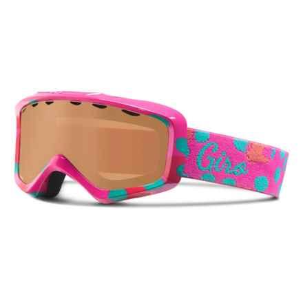 Giro Grade Ski Goggles (For Little and Big Kids) in Magenta Bubblegum/Ar40 - Closeouts