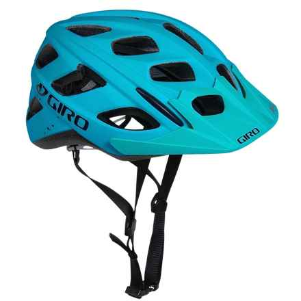 Giro Hex Bike Helmet (For Men and Women) in Matte Turquoise/Black Speckle - Closeouts