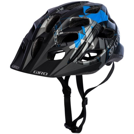 Giro Hex Bike Helmet in Black/Blue Forrest Floor