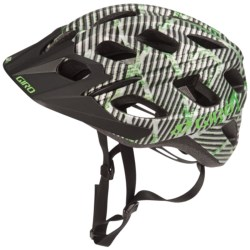Giro Hex Bike Helmet in Titanium/White Seagrass