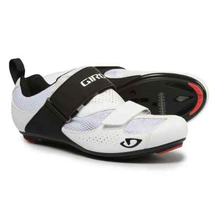 Giro Inciter Tri Road Cycling Shoes - SPD, 3-Hole (For Men) in White/Black - Closeouts