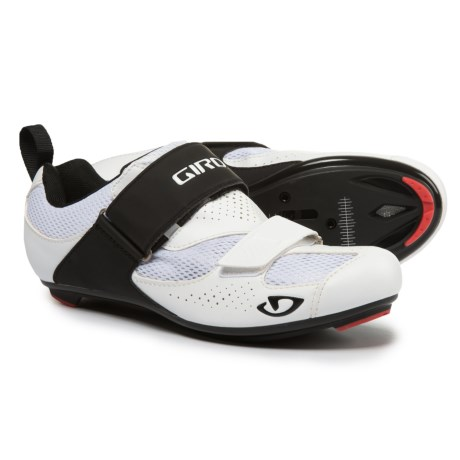 Giro Inciter Tri Road Cycling Shoes - SPD, 3-Hole (For Men) in White/Black