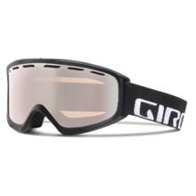 Giro Index OTG Ski Goggles - Flash Lens in Black Wordmark/Rose Silver - Closeouts
