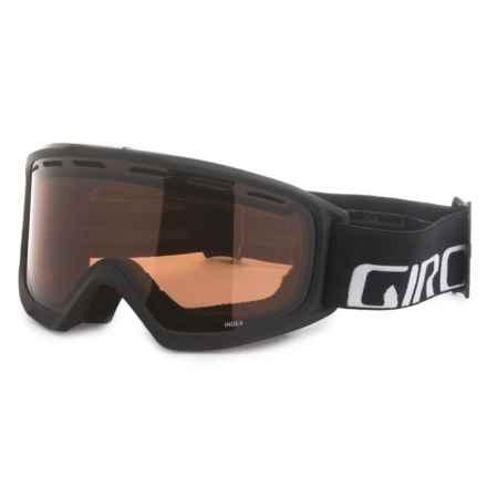 Giro Index OTG Snowsport Goggles in Black Wordmark/Ar40 - Closeouts