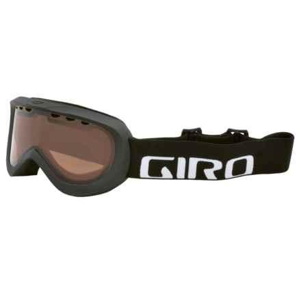 Giro Insight Ski Goggles in Black Wordmark/Ar40 - Closeouts