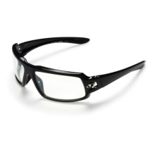 Giro Instigator Sunglasses - ZEISS Lenses in Gloss Black/Clear Silver 82Z - Closeouts
