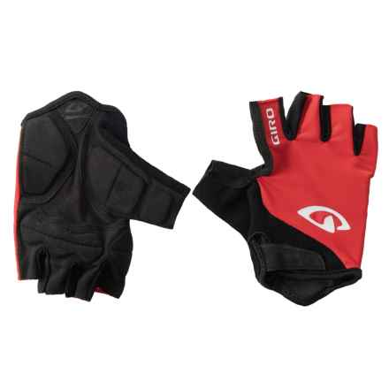 Giro Jag Bike Gloves - Fingerless (For Men) in Red - Closeouts