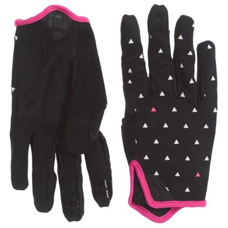 Giro LA DND Bike Gloves (For Women) in Black Sharktooth