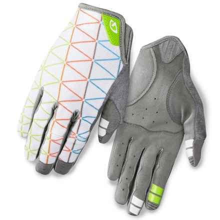 Giro LA DND Bike Gloves (For Women) in White Geo - Closeouts