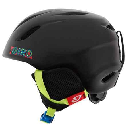 Giro Launch Ski Helmet (For Little and Big Kids) in Black Ski Ball - Closeouts