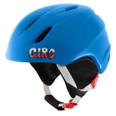 Giro Launch Ski Helmet (For Little and Big Kids) in Blue Icee - Closeouts