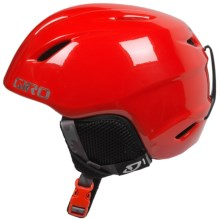 Giro Launch Ski Helmet (For Little and Big Kids) in Glow Red Camo - Closeouts