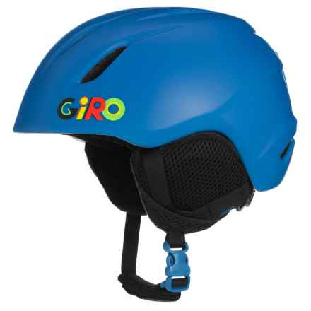 Giro Launch Ski Helmet (For Little and Big Kids) in Matte Blue Wild - Closeouts