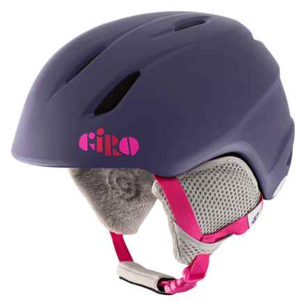 Giro Launch Ski Helmet (For Little and Big Kids) in Matte Purple Clouds - Closeouts