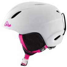Giro Launch Ski Helmet (For Little and Big Kids) in White Hearts - Closeouts