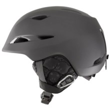 Giro Lure Ski Helmet (For Women) in Matte Titanium Laurel - Closeouts