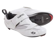 Giro Mele Tri Cycling Shoes - 3-Hole (For Men) in White - Closeouts