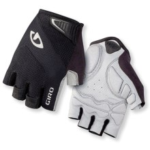 Giro Monaco Cycling Gloves - Fingerless (For Men and Women) in Black/White - Closeouts