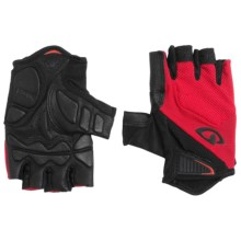 Giro Monaco Cycling Gloves - Fingerless (For Men and Women) in Red/Black - Closeouts