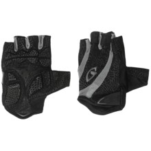 Giro Monica Cycling Gloves - Fingerless (For Women) in Black/Charcoal - Closeouts