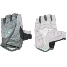 Giro Monica Cycling Gloves - Fingerless (For Women) in Silver/Titanium - Closeouts