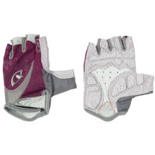 Giro Monica Cycling Gloves - Fingerless (For Women) in Sorrel/Silver - Closeouts
