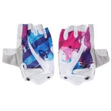 Giro Monica Cycling Gloves - Fingerless (For Women) in White Galaxy - Closeouts