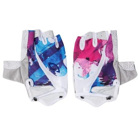 Giro Monica Cycling Gloves - Fingerless (For Women) in White Galaxy