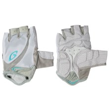 Giro Monica Cycling Gloves - Fingerless (For Women) in White/Milky Blue - Closeouts