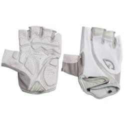 Giro Monica Cycling Gloves - Fingerless (For Women) in White/Silver