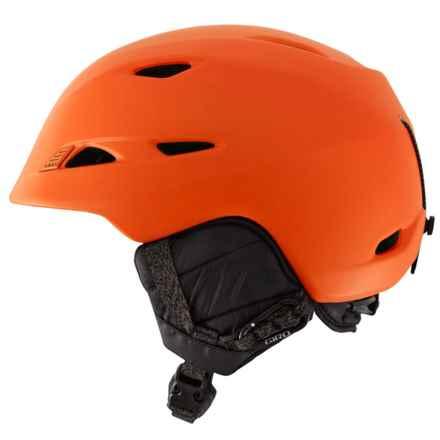 Giro Montane Ski Helmet in Matte Ano Orange - Closeouts
