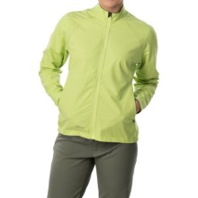 Giro Neo Polartec® NeoShell® Cycling Jacket (For Women) in Wild Lime - Closeouts