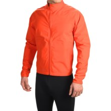 Giro Neo Polartec® NeoShell® Cycling Rain Jacket - Waterproof (For Men) in Glowing Red - Closeouts