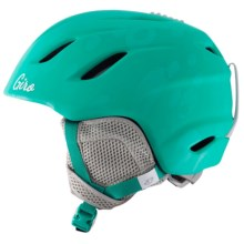 Giro Nine Jr. Ski Helmet (For Little and Big Kids) in Matte Turquoise Bubblegum - Closeouts