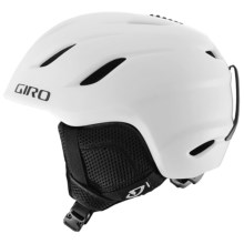 Giro Nine Jr. Ski Helmet (For Little and Big Kids) in Matte White - Closeouts