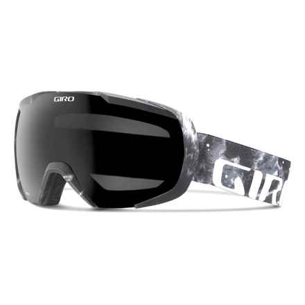 Giro Onset Ski Goggles in Black Rostarr/Black Limo - Closeouts