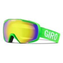 Giro Onset Ski Goggles in Bright Green Monotone/Yellow Boost - Closeouts