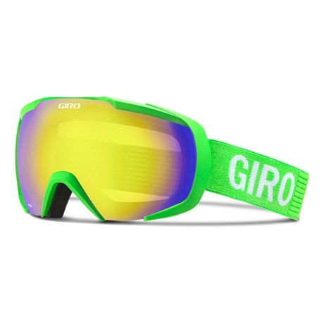 Giro Onset Ski Goggles in Bright Green Monotone/Yellow Boost