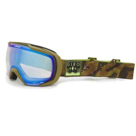 Giro Onset Ski Goggles in Milspec/Olive/Camo/Yellow Boost - Closeouts